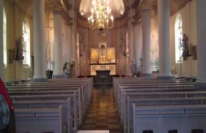 kerk interieur